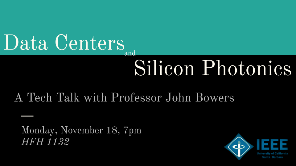 Tech Talk with Professor John Bowers