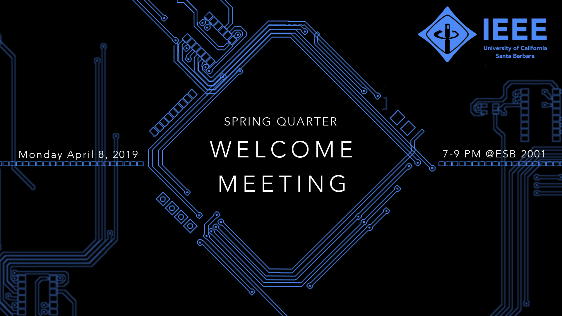Spring Quarter - First General Meeting