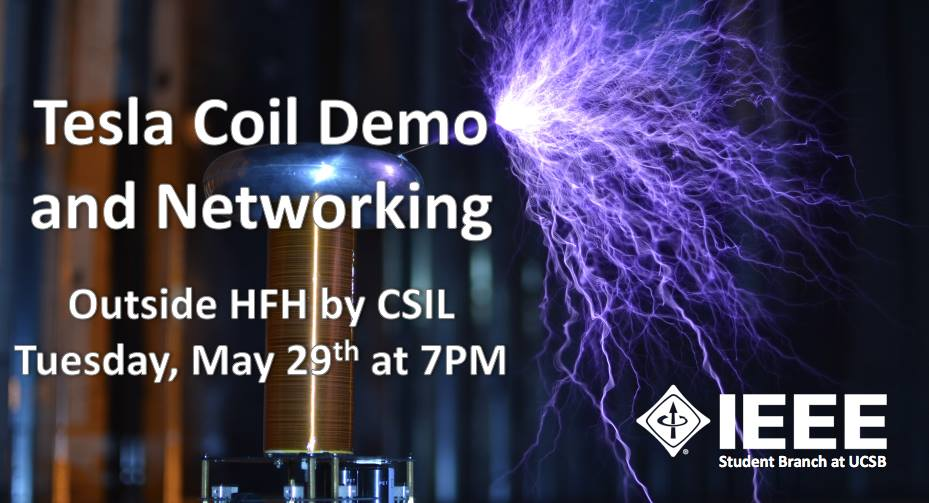 Project Demo Day and Tesla Coil Demo