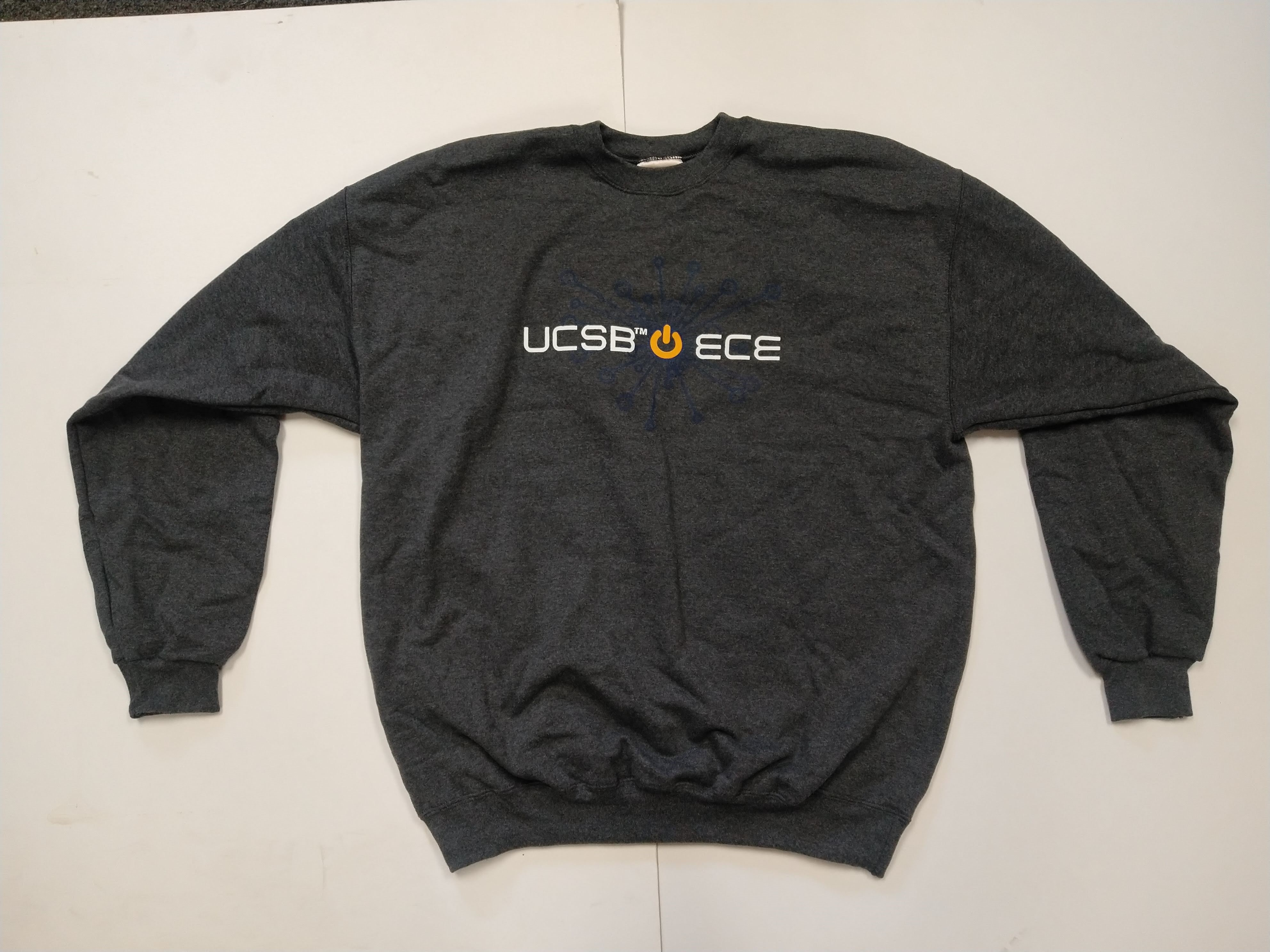 Grey ECE Sweater Front