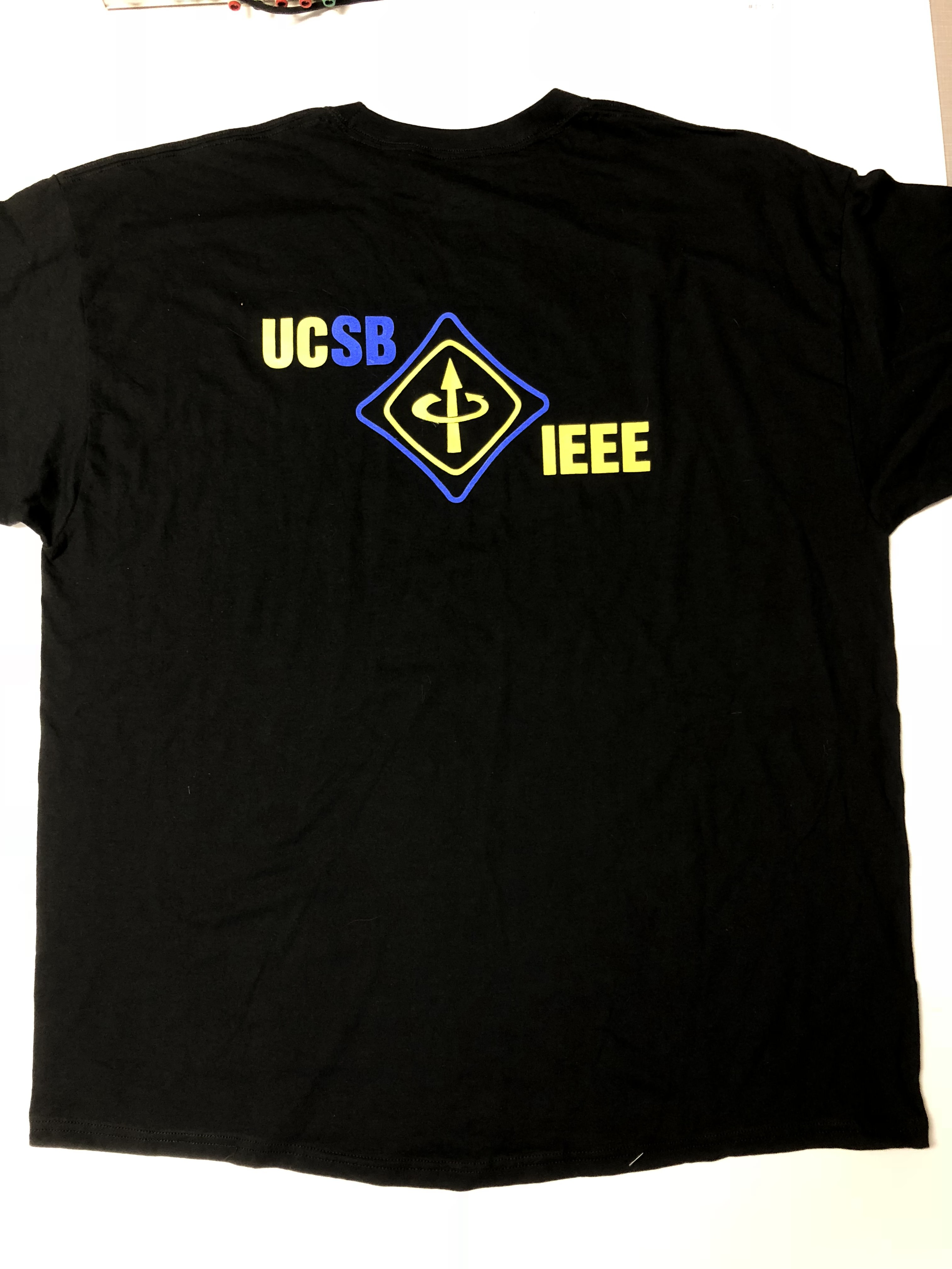 IEEE Bustin' Caps Shirt Back
