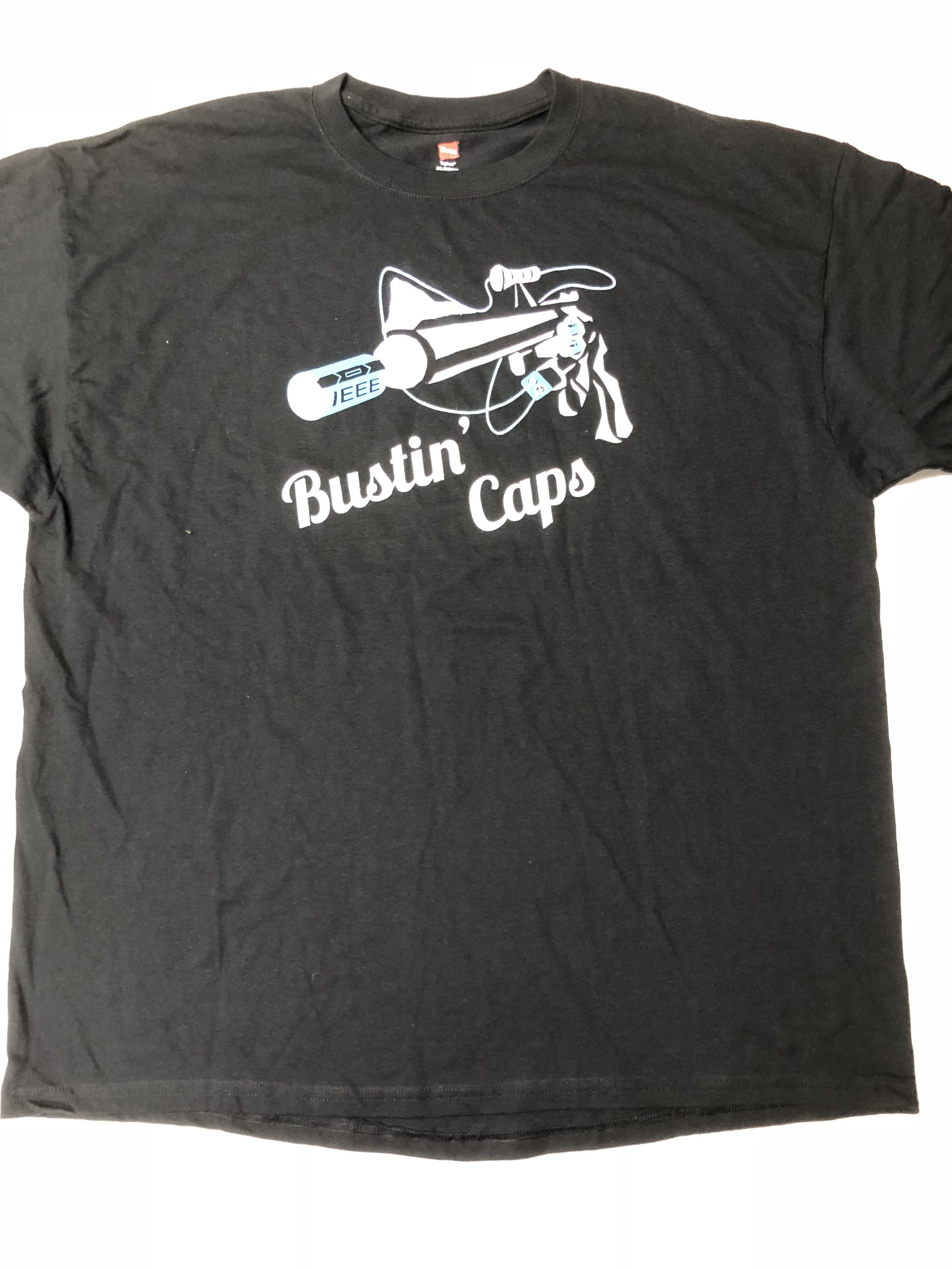 IEEE Bustin' Caps Shirt Front
